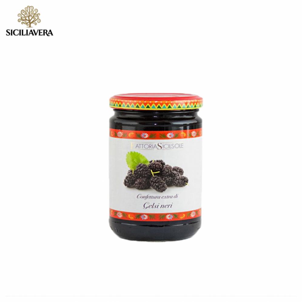 Confettura di Gelsi neri di Sicilia biologica