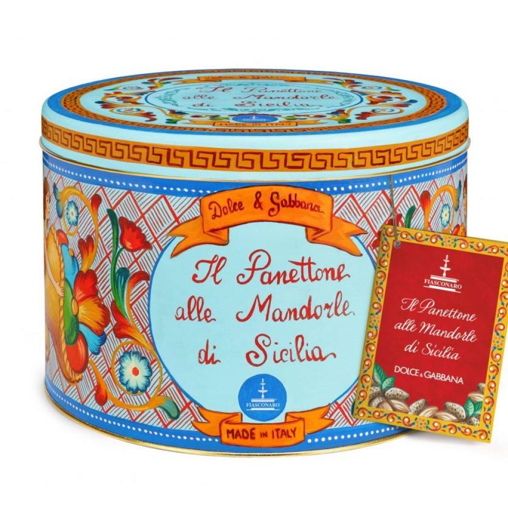 PANETTONE ALLE MANDORLE DI SICILIA KG.1